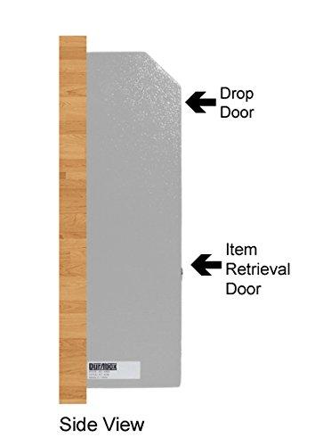 Durabox Wall Mount Locking Deposit Drop Box Safe W500