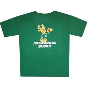 Milwaukee Bucks Throwback Vintage Hardwood Classics Shirt by adidas