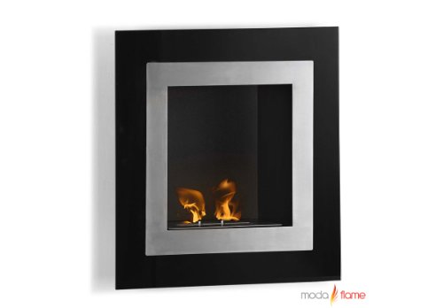 Moda Flame Roa Wall Mounted Bio Ethanol Ventless Fireplace Non Gel picture B00C20ROB4.jpg