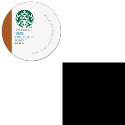 Kitdxefh207Gmt9573 - Value Kit - Starbucks Pike Place Decaf Coffee K-Cups Pack (Gmt9573) And Dixie Plastic Cutlery (Dxefh207) front-544860