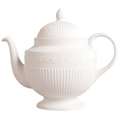 Wedgwood Edme Teapot, White