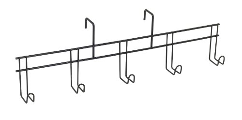Equiessentials Wire 5-Hook Bridle Rack - Silver - One Size