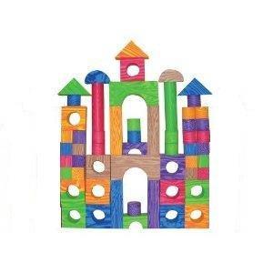 Amazon Com Verdes 60 Pcs Color Foam Blocks Toys Amp Games