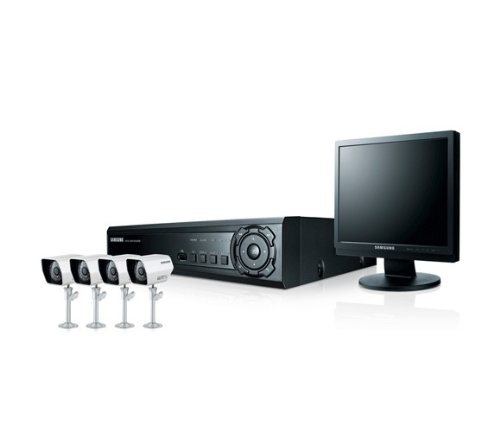 I8E-Samsung 4Channel & 4Cameras All-in-one System SDE-3170 Black Friday & Cyber Monday 2014