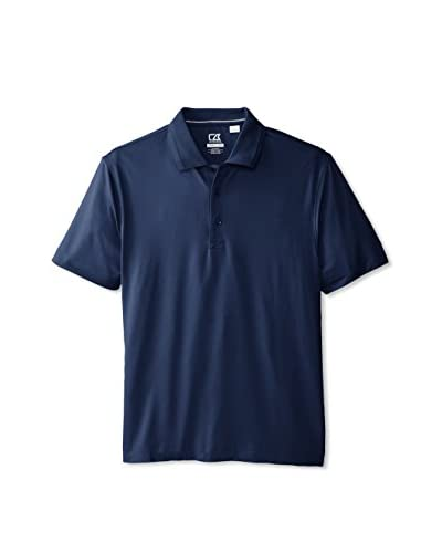 Cutter & Buck Men's Drytec Gallery Solid Short Sleeve Polo