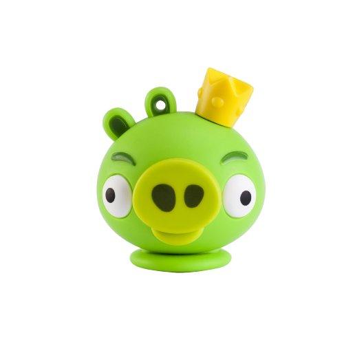Emtec Angry Birds Re Maiale Memoria 8 GB, USB 2.0, Azzurro Blu