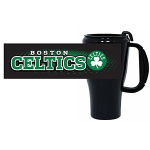 Boston Celtics 16 oz Plastic Roadster Travel Mug boston