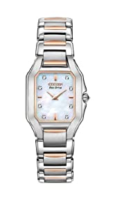 Citizen Women's EX1196-51D The Signature Collection Eco-Drive Fiore Watch