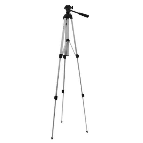 Light weight Travel Camera Tripod with carrying bag - 52 inch For Canon EOS 1100D/EOS 600D/IXUS 220 HS/PowerShot SX230 HS /PowerShot G12 /Cisco Flip Video UltraHD 3rd Generation/Kodak Zi8