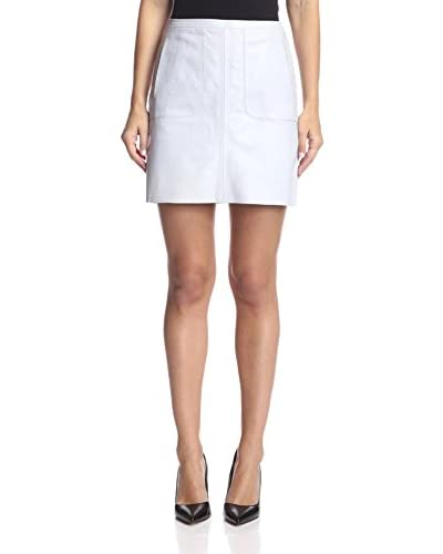 French Connection Women's Jetson Leather Skirt