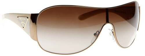 prada Prada Sunglasses Pr 22Ms Zva6S1 Ivory Brown Gradient