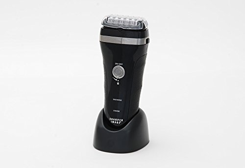 sharper image world s fastest cordless foil shaver and trimmer grow beard fast. Black Bedroom Furniture Sets. Home Design Ideas
