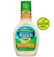 Hidden Valley Light Buttermilk Ranch Salad Dressing - 6 Pack