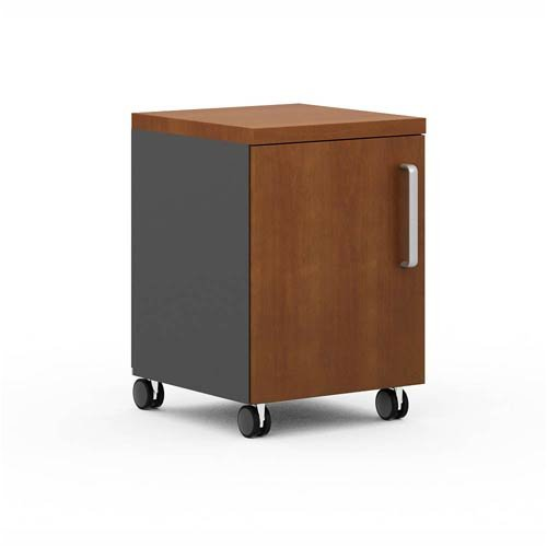 Rolling Base Cabinet with 1 Door in Cherry by Bladez
