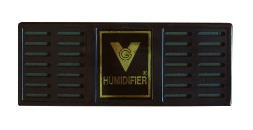 "Prestige Import Group Humidifier 6-1/2"" x 2-1/2"" Rectangle (Black) - 1"