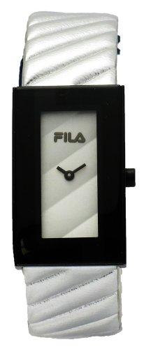 Fila FA0845-72 Prezioso Women's Silver Tone Leather Band Dial Fashion Watch