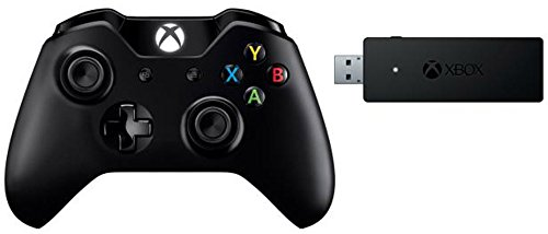 Controller Xbox One + Adattatore wireless per PC - Windows 10