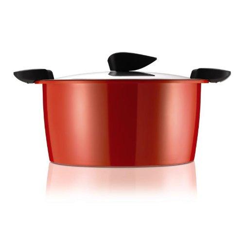 kuhn rikon 5 liter hotpan stockpot red best stockpots reviews. Black Bedroom Furniture Sets. Home Design Ideas