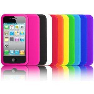 Custodia per Apple iPhone 4 4G 4S Pouch AZZURRA Cover Case