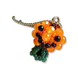 Create Your Own Miyuki Mascot Bead Charm Kit - Halloween Jack-O-Lantern Pumpkin