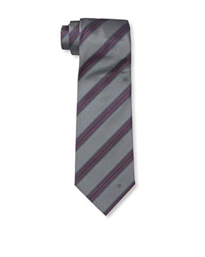 Givenchy Men's Stripe Tie, Blue/Red/Grey