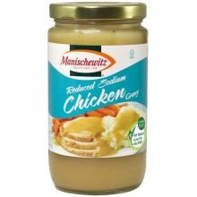Manischewitz Reduced Sodium Chicken Gravy, 12 Ounce -- 12 Per Case.