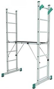 Aluminium Arbeitsplattform Arbeitsgerüst Multifunktional verstellbar bis 4 Meter  BaumarktÜberprüfung und Beschreibung