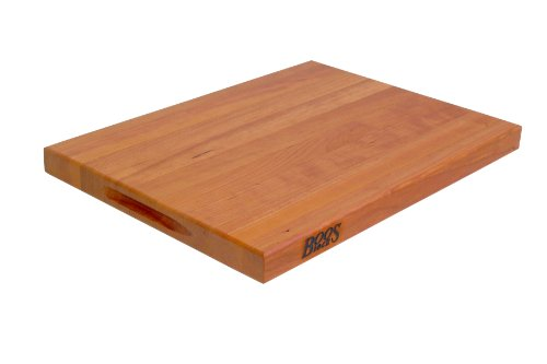 John Boos 20 By 15 By 1.5-Inch Reversible Cherry Cutting Board