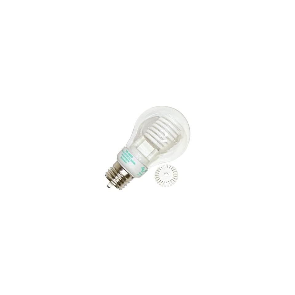 Litetronics 49980   MB 500DP 5W A19 CL PW Cold Cathode Screw Base Compact Fluorescent Light Bulb