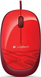 Logitech M105 Mouse (Red)