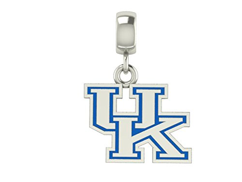 Kentucky Wildcats UK Cut Out Drop Charm Fits All European Style Bracelets