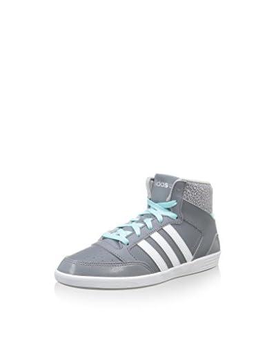 adidas Hightop Sneaker Hoops Vl Mid W grau