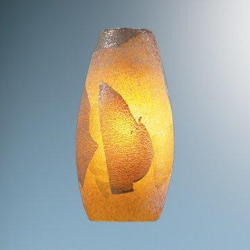 Mini Ciro Glass Shade Shade Color: Gold Leaf