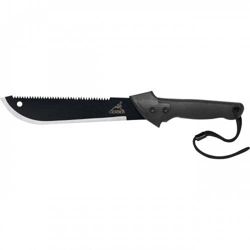 "Gerber Gator Machete Cutting Knife - Fixed Blade Knife - 10.75"" Blade / 31000759 /"