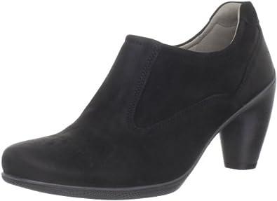 亚马逊美国_ECCO 爱步女士 Sculptured Shoetie Pump高跟鞋