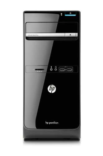 HP Pavilion p6-2330 Desktop (Black)