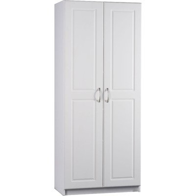 Cheap bathroom linen cabinets: Ameriwood 7344015Y Deluxe Storage ...