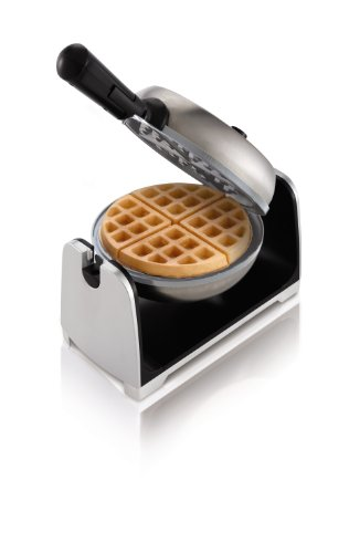 Oster CKSTWFBF22-ECO DuraCeramic Flip Waffle Maker,  Stainless Steel (Oster Ceramic Waffle compare prices)