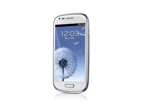 Samsung Galaxy S III mini GT-I8190 (10,16 cm (4 Zoll) AMOLED-Touchscreen, Android 4.1, 1 GHZ Dual-Core-Prozessor) marble-white