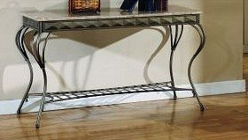 Cheap ELEGANT NEW MARBLE STYLE CONSOLE SOFA TABLE (VF_F6041)