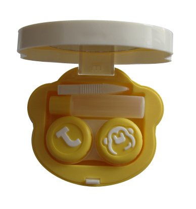 optisafe-monkey-contact-lens-mate-a-8012-orange