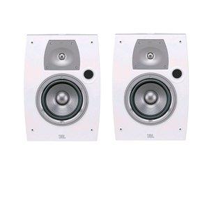 """Jbl Northridge N26Aw Ii 2-Way, 6"""" Weather-Resistant Bookshelf Speakers - Off White (Pair)"""