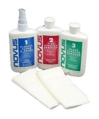 Novus 1, 2, 3 Kit Plastic Polish and Scratch Remover