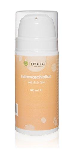 Deluxe Intim Waschlotion (100ml) Lumunu reinlich fein, natürliche Pflege mit Milchsäure für Sie und Ihn