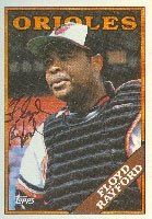 Floyd Rayford Baltimore Orioles 1988 Topps Autographed Hand Signed Trading Card. by Hall of Fame Memorabilia