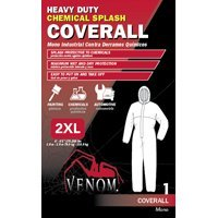 Venom Chemical Resistant Coveralls, XX-Large