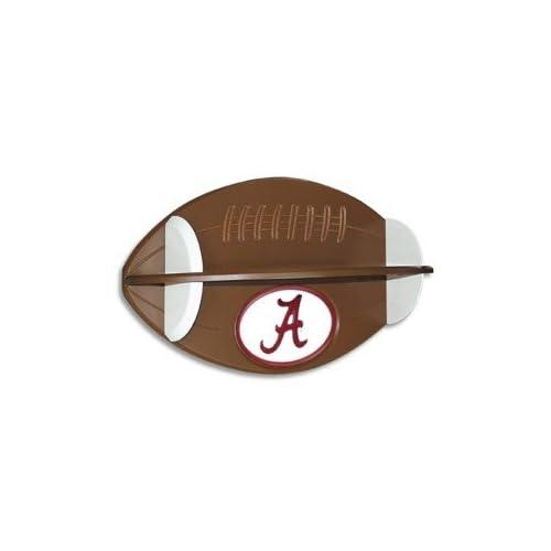 Alabama Crimson Tide Football Shelf