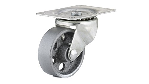 Richelieu Hardware F25049 Industrial Sintered Iron Caster - Swivel - 3 inch Wheel Diameter,, 3