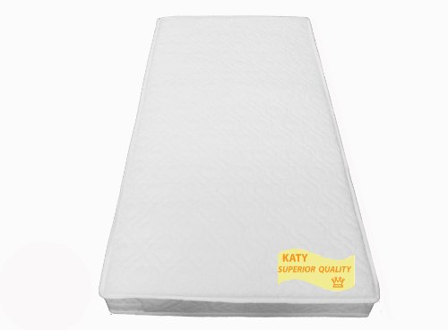 KATY® 132 x 77 cm Superior Spring Interior Mattress - 132x77 cm Fits All The NEW Boori Range Cot Beds