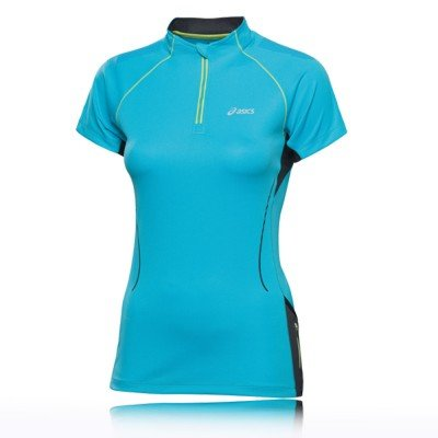 ASICS Women's Trail Short Sleeve Zip Top